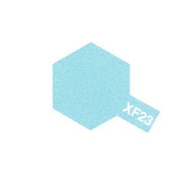 PEINTURE TAMIYA XF23 LIGHT BLUE BLEU CLAIR MAT MAQUETTE SYRACOM MODELISME ESLETTES ROUEN NORMANDIE BATEAUX VOITURES AVIONS