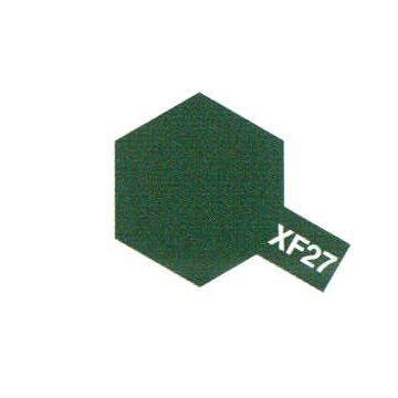 PEINTURE TAMIYA XF27 BLACK GREEN NOIR VERT MAQUETTE A CONSTRUIRE SYRACOM MODELISME ESLETTESR ROUEN NORMANDIE