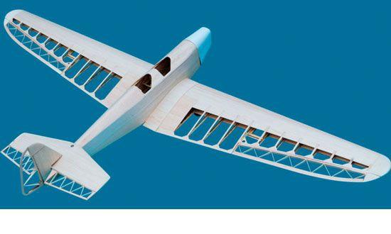 avion kit balsa klemm L25 Lasercut S02310280 Krick syracom modelisme eslettes rouen normandie