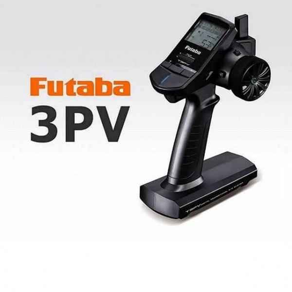 radiocommande futaba 3PV  R203GF VOITURE RADIOCOMMANDEE SYRACOM MODELISME ESLETTES ROUEN NORMANDIE