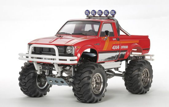 toyota pick-up 4x4 mountain rider 47394 tamiya maquette a construire a coller syracom modélisme eslettes Rouen normandie