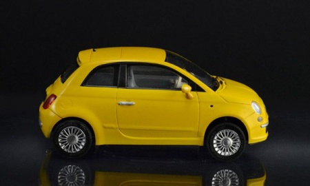 MAQUETTE FIAT 500 ITALERI I3647 A CONSTRUIRE A MONTER A COLLER A PEINDRE SYRACOM MODELISME ESLETTES ROUEN NORMANDIE