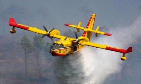 canadair avion maquette cl-415 a coller a construire rouge jaune syracom modélisme eslettes rouen normandie