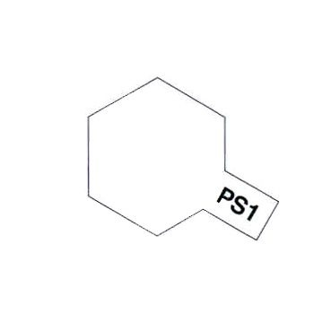 PEINTURE TAMIYA PS1 BLANC BLANCHE 86001 BOMBE CAROSSERIE POLYCARBONATES SYRACOM MODELISME ESLETTES ROUEN NORMANDIE