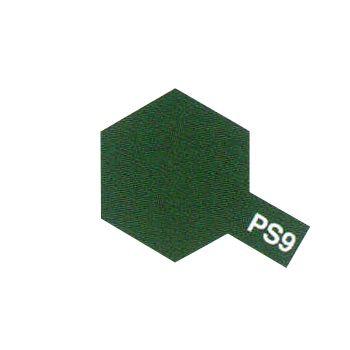 PEINTURE TAMIYA PS9 VERT  86009 BOMBE CAROSSERIE POLYCARBONATE SYRACOM MODELISME ESLETTES ROUEN NORMANDIE