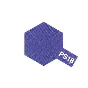 PS18 PEINTURE TAMIYA POLYCARBONATE VIOLET METALLISE 86018 SYRACOM MODELISME ESLETTES ROUEN NORMANDIE MAQUETTE VOITURE
