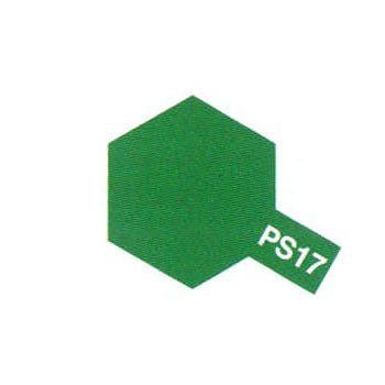 PS17 VERT METALLISE PEINTURE TAMIYA POLYCARBONATE 86017 VOITURE MAQUETTE SYRACOM MODELISME ESLETTES ROUEN NORMANDIE