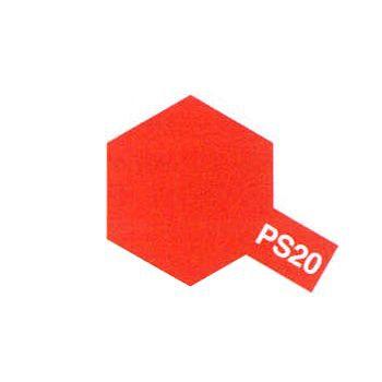 PS20 ROUGE FLUO PEINTURE TAMIYA CARROSSERIE POLYCARBONATE 86020 SYRACOM MODELISME ESLETTES ROUEN NORMANDIE