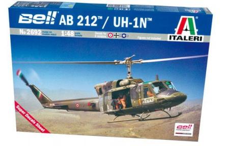 MAQUETTE ITALERI HELICOPTERE BELL AB212 2692 SYRACOM MODELISME ESLETTES ROUEN NORMANDIE