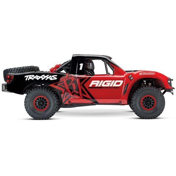 VOITURE RADIOCOMMANDEE TRAXXAS UNLIMITED DESERT RACER 4X4 RIGID TRX85076 SYRACOM MODELISME ESLETTES ROUEN NORMANDIE