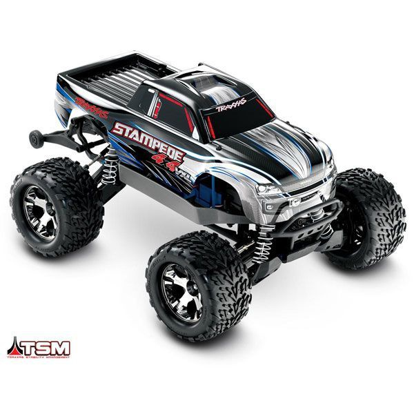 VOITURE RADIOCOMMANDEE TRAXXAS STAMPEDE TRX67086 SYRACOM MODELISME ESLETTES ROUEN NORMANDIE