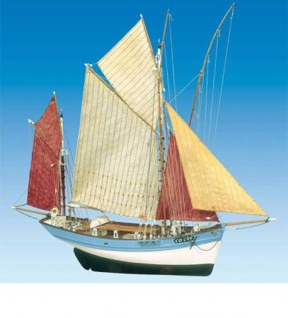 bateau maquette a construire bois Marie Jeanne echelle 1-50 syracom modelisme eslettes rouen normandie