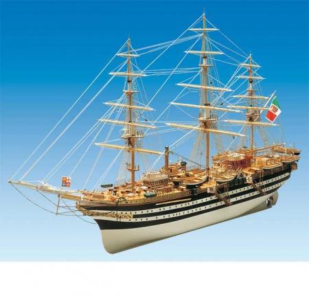 bateau maquette a construire bois AMERIGO VESPMUCCI syracom modelisme eslettes rouen normandie