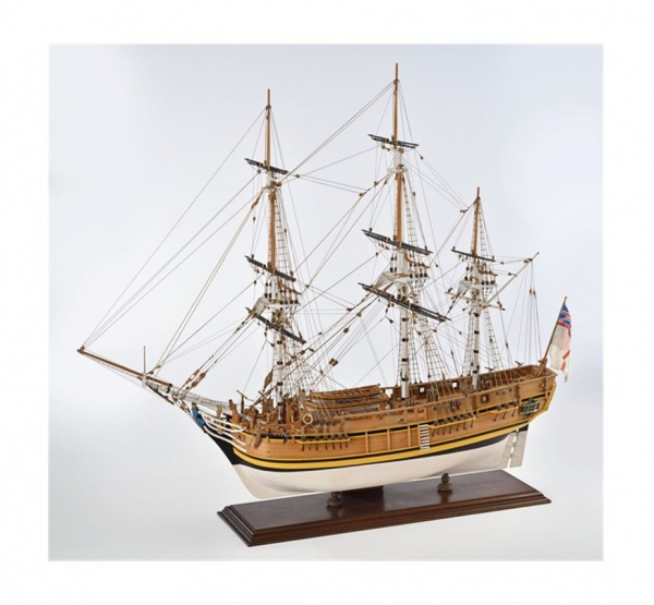 KIT HMS BOUNTY SCATOLA AMATI MAQUETTE A CONSTRUIRE VOILIER B1432 SYRACOM MODELISME ESLETTES ROUEN NORMANDIE