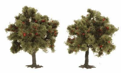 POMMIERS 6848 BUSCH TREES MAQUETTE DECORATION PLANTATION TRAIN MODELISME ESLETTES ROUEN NORMANDIE