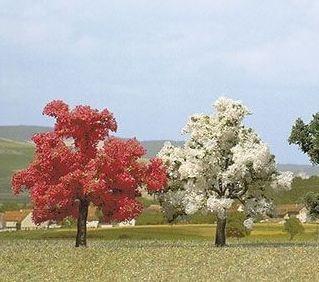 ARBRES EN FLEURS BUSCH 6853 MAQUETTE DECORATION SYRACOM MODELISME ESLETTES ROUEN NORMANDIE