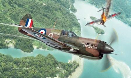 maquette italeri I2795 P-40E K KITTYHAWK AVION GUERRE MILITARIA SYRACOM MODELISME ESLETTES ROUEN NORMANDIE