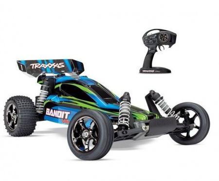 TRX24076-4-BLUE voiture radiocommandee Traxxas bandit 4x2 bleu syracom modelisme eslettes rouen normandie