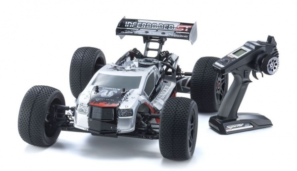 INFERNO NEO KYOSHO THERMIQUE K.33002T1 VOITURE RADIOCOMMANDEE SYRACOM MODELISME ESLETTES ROUEN NORMANDIE
