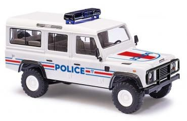 LAND ROVER POLICE FRANCAISE BUSCH HO BUV50366 SYRACOM MODELISME TRAIN ESLETTES ROUEN NORMANDIE
