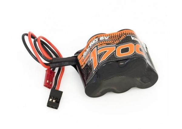 batterie nimh pyramidale 6v 1700mah KN-NI6