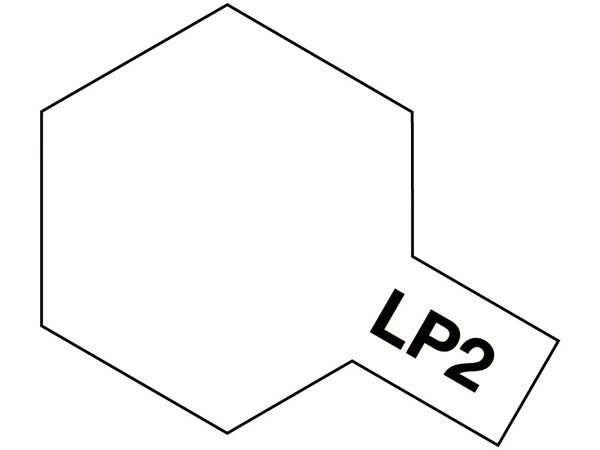 PEINTURE LAQUEE TAMIYA LP2 BLANC LP-2 BLANCHE ACRYLIQUE POT 10ML MAQUETTE  SYRACOM MODELISME ESLETTES ROUEN NORMANDIE