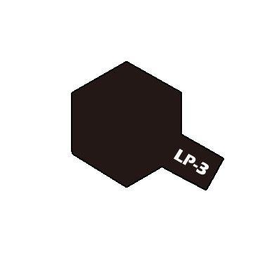 PEINTURE LAQUEE TAMIYA LP3 NOIR MAT LP-3 ACRYLIQUE POT 10ML MAQUETTE SYRACOM MODELISME ESLETTES ROUEN NORMANDIE