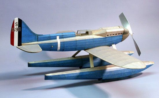 maquette  avion a construire dumas super marine s-6b 404 flotteur syracom modelisme eslettes rouen normandie