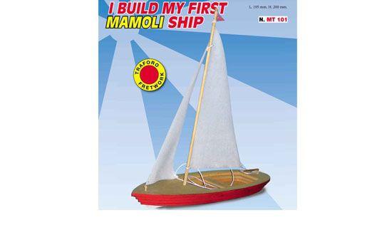 mamoli bateau maquette a construire enfant mt 101 syracom modelisme eslettes rouen normandie