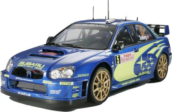 SUBARU IMPREZA WRC MC05 MAQUETTE VOITURE TAMIYA 24281 SYRACOM MODELISME ESLETTES ROUEN NORMANDIE