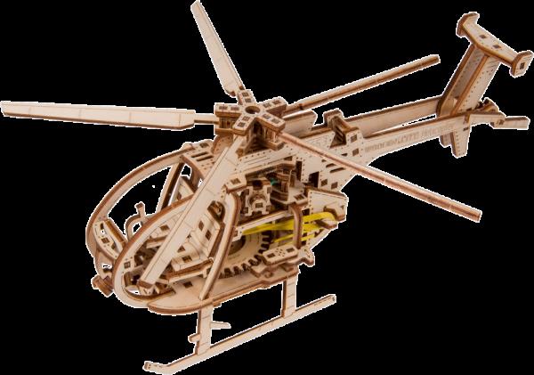 HELICOPTERE WOODEN CITY S056WR344 CONSTRUCTION BOIS SYRACOM  MODELISME ESLETTES ROUEN NORMANDIE