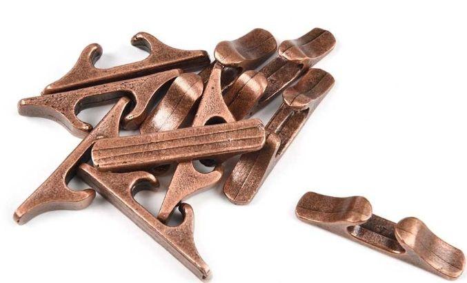 chaumards en métal bruni 27mm amati accasitllage bateau maquette voilier syracom modelisme eslettes rouen normandie