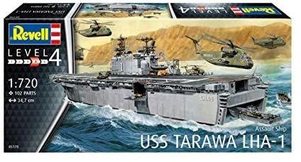 ASSAULT USS TARAWA LHA-1 REVELL RV05170 BATEAU NAVIRE SYRACOM MODELISME ESLETTES ROUEN NORMANDIE