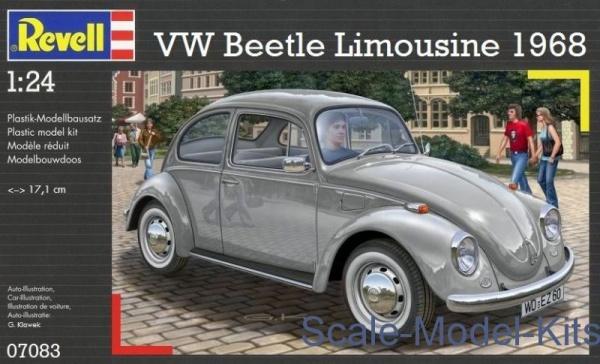 maquette revell 1 24 vw beetle limousine 1968 rv07083 syracom modelisme eslettes rouen normandie
