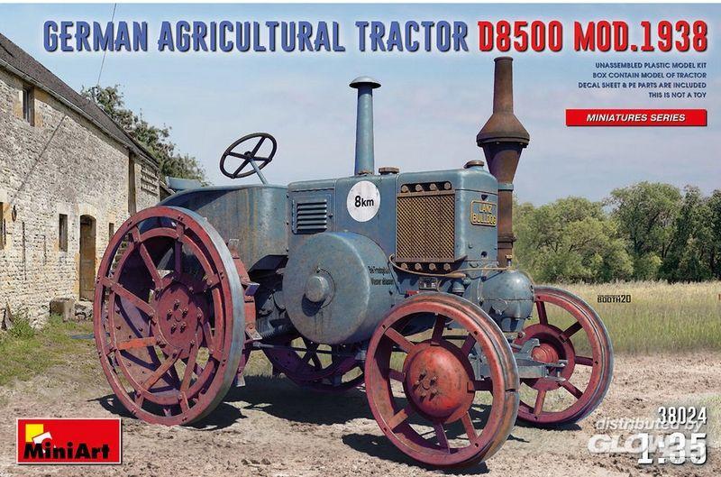 MAQUETTE TRACTEUR A CONSTRUIRE GERMAN AGRICULTURAL D8500 SYRACOM MODELISME ESLETTES ROUEN NORMANDIE