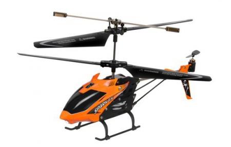 HELICOPTERE SPARK SX ORANGE ATTERISSAGE AUTOMATIQUE T5157OR SYRACOM MODELISME ESLETTES ROUEN NORMANDIE