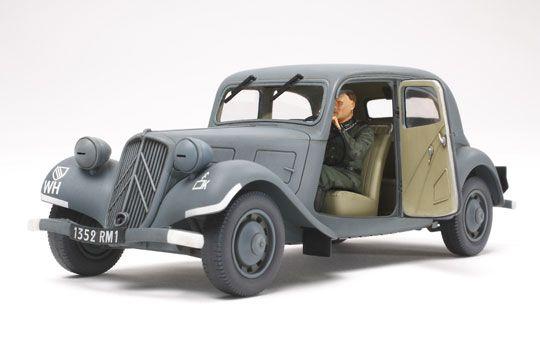 citroen traction 11 cv militaria maquette tamiya syracom modelisme eslettes rouen elbeuf normandie