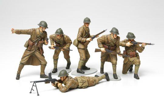 maquette infanterie française 1940 tamiya militaria 35288 syracom modelisme eslettes rouen normandie
