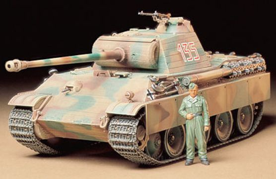 CHAR MAQUETTE PANTHER TAMIYA 35170 ECHELLE 1 35 SYRACOM MODELISME ESLETTES ROUEN NORMANDIE