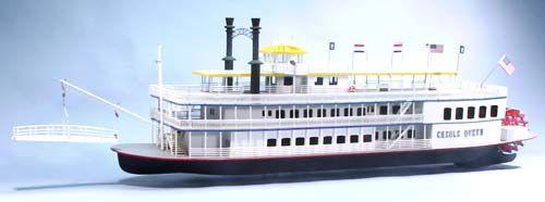 creole queen bateau maquette bois a construire dumas s1251222 syracom modelisme eslettes rouen normandie