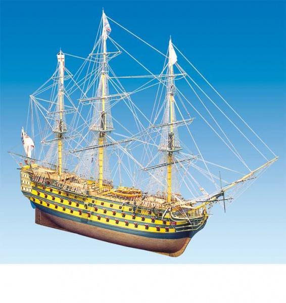 HMS VICTORY MAQUETTE BATEAU A CONSTRUIRE S068738 MANTUA SYRACOM MODELISME ESLETTES ROUEN NORMANDIE
