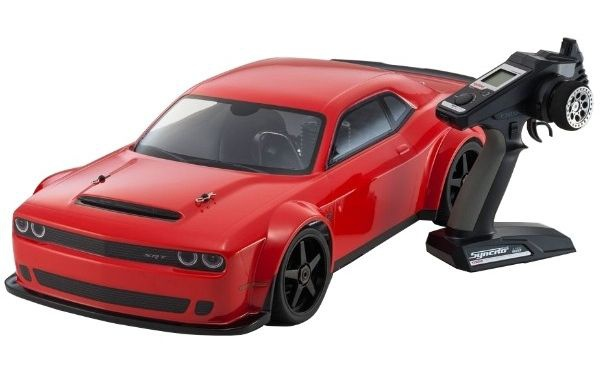 VOITURE RADIOCOMMANDEE THERMIQUE KYOSHO INFERNO GT2 K.31835RS SYRACOM MODELISME ESLETTES ROUEN NORMANDIE