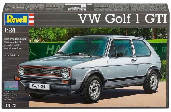 MAQUETTE  07072 REVELL VW GOLF 1 GTI ECHELLE 1 - 24  SYRACOM MODELISME ESLETTES ROUEN NORMANDIE