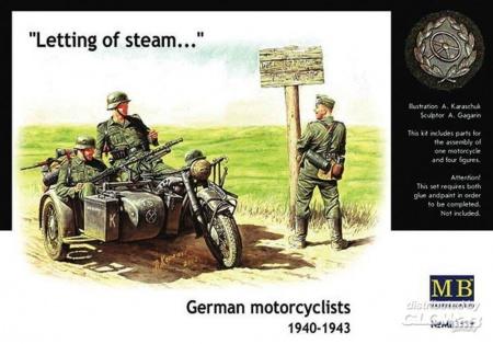 SIDE CAR ALLEMAND MB 3539 1940-42 MOTO SYRACOM MODELISME ESLETTES ROUEN NORMANDIE