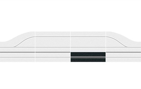 MONO RAIL POUR EXTENSION CARRERA CA30341 ECHELLE 1.24 1.32 SYRACOM MODELISME ESLETTES ROUEN NORMANDIE