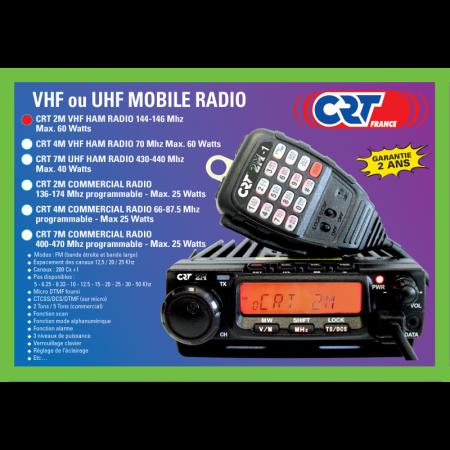 POSTE CIBI CRT 2M HAM VHF UHF  SYRACOM MODELISME RADIOCOMMUNICATION ESLETTES ROUEN DIEPPE NORMANDIE