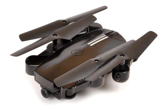 drone quadrocoptere noir 2 CAMERAS PLIABLE  t2m t5188 spirit fw 3.0 syracom modelisme eslettes rouen normandie