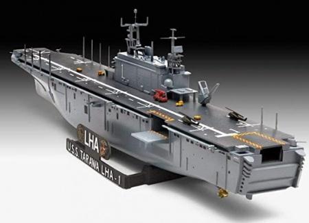 NAVIRE ASSAULT SHIP USS TARAWA REVELL RV05170 SYRACOM MAQUETTE MODELISME ESLETTES ROUEN NORMANDIE