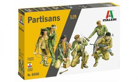 PARTISANS RESISTANTS MILITARIA MAQUETTE ITALERI  I6556 ECHELLE 1 35  MODELISME SYRACOM ESLETTES ROUEN LE HAVRE DIEPPE ELBEUF