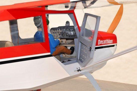 avion_radiocommande_rouge_super_decathlon_bh150_thermique_syracom_modelisme_eslettes_rouen_normandie